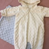 Набор для новорожденного, плед и комбинезон, можно на выписку george