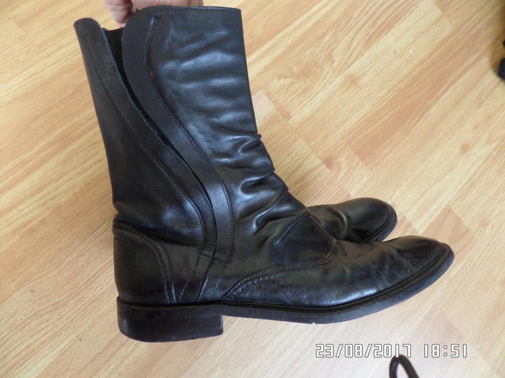 Zara Classic 41р 27см шкіряні чоботи фото №1