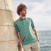 Отличная мужская футболка Поло L 52-54 евро тсм Tchibo Германия