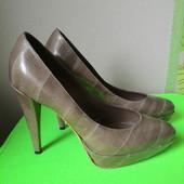 Крутые туфли кожа полностью, Италия, Baldan Venezia