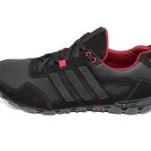 Кроссовки Adidas, натур кожа, 2 цвета