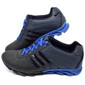 Кроссовки Adidas, натур кожа, 3 цвета