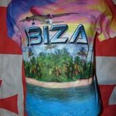 Стильная фирменная футболка бренд Planet (плэнет) Унисекс s-m