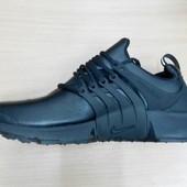 Распродажа!Кроссовки Nike Presto натур кожа, 2 цвета(топ качество)