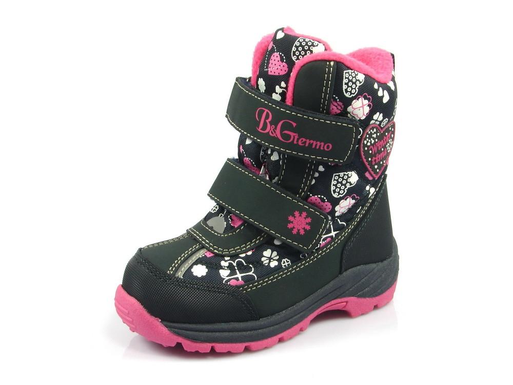 96ae5289b54089 100-175-23 , детская зимняя обувь термо-ботинки для девочки, тм b&g ...
