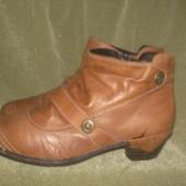 Полу ботинки кожаные утепленные Rieker. Германия