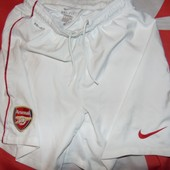 Спортивние фирменние оригинал футбольние шорти Nike ф.к Арсенал. s-m