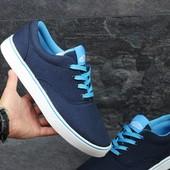 Распродажа Мокасины мужские Vans Blue 44,45р