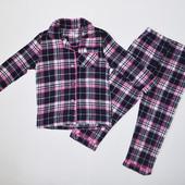 Фланелевая пижама для девочек от 7 до 13 лет, Primark