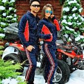 Спортивный костюм он+она зима