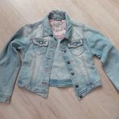 Джинсовый пиджак на 9-10 лет  NEXT
