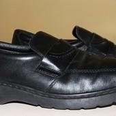 фирменные туфли нат.кожа 28.5см.