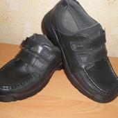 Туфли, полуботинки Clarks р.36-37, стелька 23,6 см Кожа