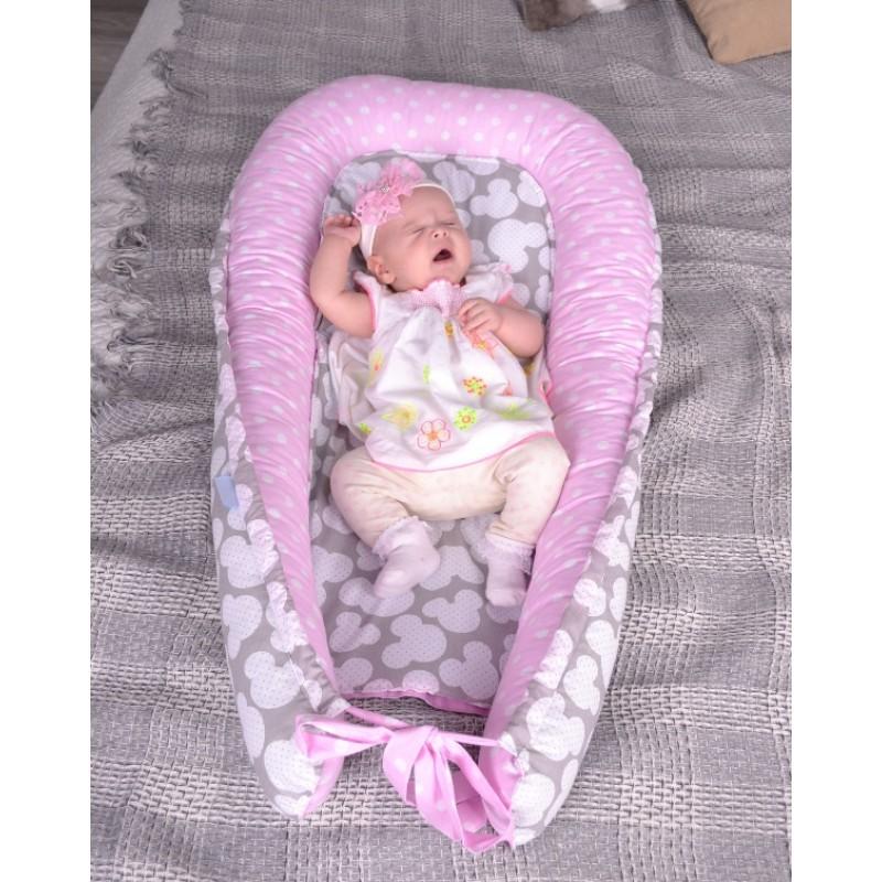 Babynest подушка-кокон для новорожденных (позиционер) Большой выбор фото №1