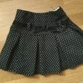 Dunnes теплая юбка р 92 98 104 110