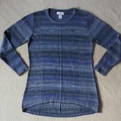Фирменный серо синий свитер North Style