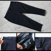 Bhs.синие брюки.большой размер.укорочены.заужены.