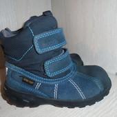 Зимние , классные ботинки Ecco c Gore-tex