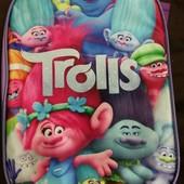 """Школьный рюкзак """"Тролли"""", новый"""