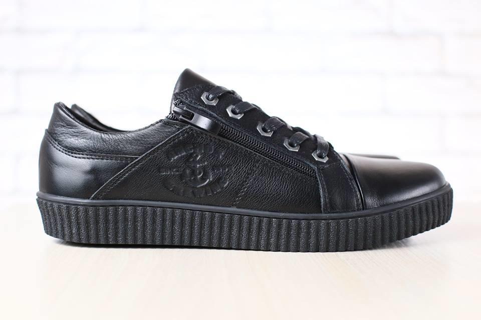 Туфли спорт. из натур. кожи, р. 40-45, код nvk-2762 фото №1