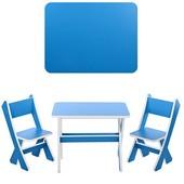Столик со стульчиками Bambi Бирюзовый (М 2101-12)