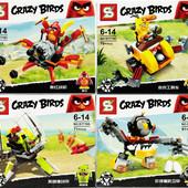 Конструктор Angry Birds Катапульта Энгри Бердс 71 деталь