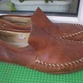 мужские туфли мокасины Base London р.44, стелька 28.5(подошва 29см )