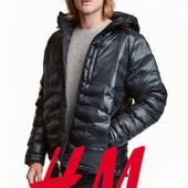 Пухова куртка для чоловіків розмір М фірми H&M Швеція