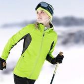 Женская лыжная куртка для беговых лыж или как осенняя ветровка Tchibo евро 44