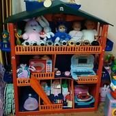 Домик для кукол ( ручная работа)