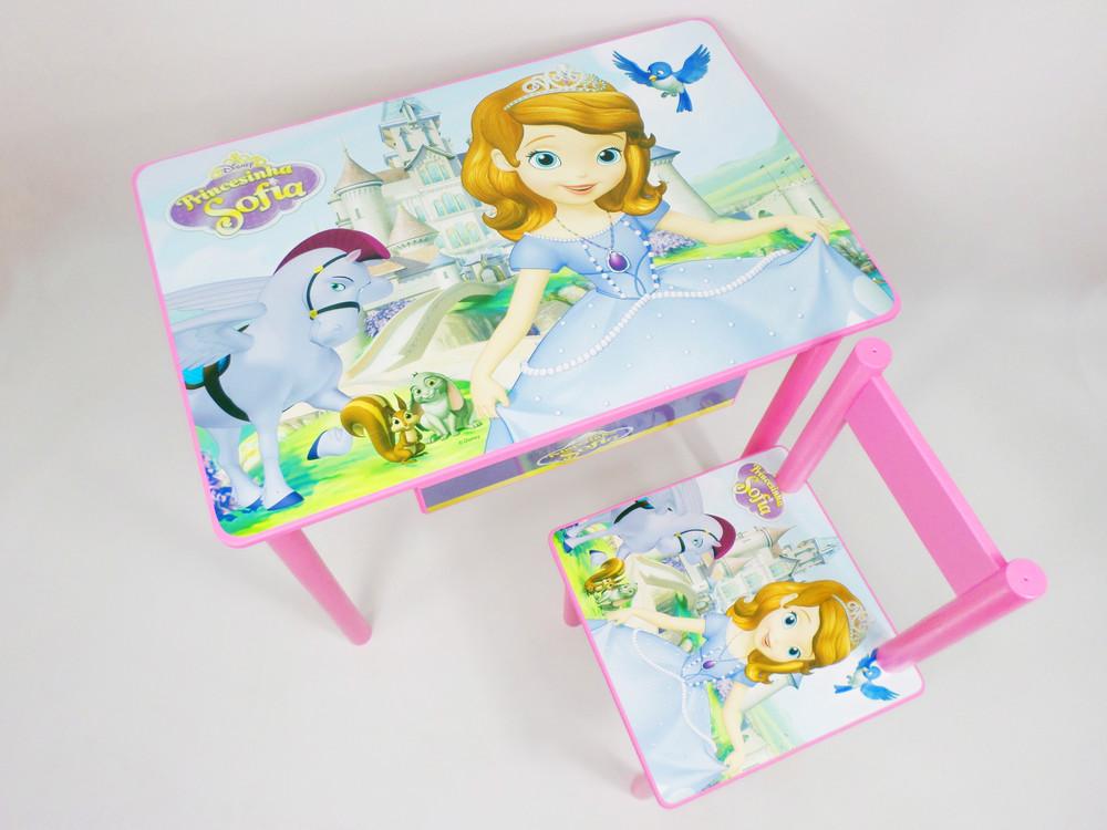 Детский столик и стульчик (от 2 до 7 лет) принцесса софия (варианты) фото №1
