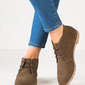 Модные кожаные ботинки Pull&Bear Испания р.37 Акция