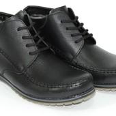Зимние мужские  кожаные ботинки, Акция 799грн