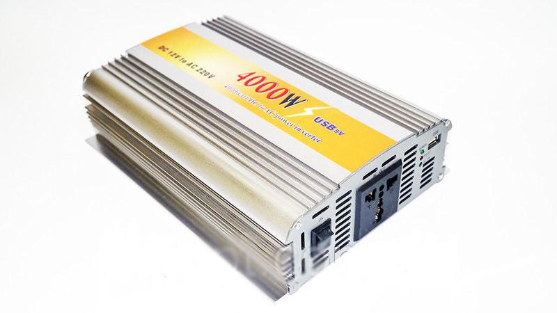 Инвертор преобразователь 12В 4000Вт серый, 1260 грн. в Кропивницком - Автоэлектроника, Оксана - Клумба