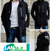 Мужская куртка парка осень - весна деми (новые) Код: 246