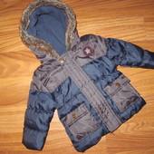 Primark Nutmeg Новая куртка курточка для 3-6 мес. 68