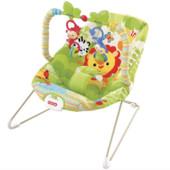 Детское массажное кресло-шезлонг Джунгли iBaby