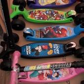 самокат складной kids speed scooter складной 403-mz Дисней