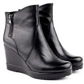 Один раз обуты фирменные демисезонные ботинки Tamaris 40 размера