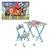 Детская парта–столик DT 19-5 Angry Birds (со стульчиком)
