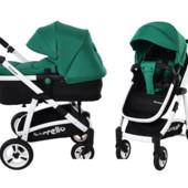 Универсальная коляска-трансформер 2в1 carrello Fortuna crl-9001 Green
