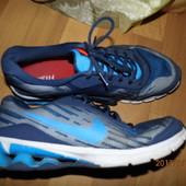 (i91)фирменные кожаные кроссовки 45 р Nike