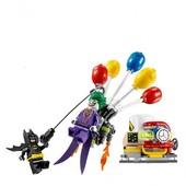 """Конструктор Bela batman 10626 (аналог lego the batman movie 70900) """"Побег Джокера на воздушном шаре"""""""