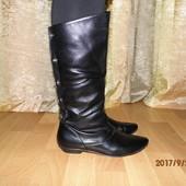 (i135)стильные сапожки 38 р