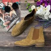 Замшевые ботинки-челси Asos c высоким голенищем  SH3714