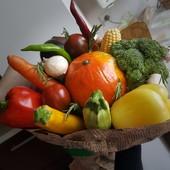 """Букет """"Мега овощ"""" с тыквой"""