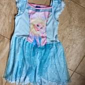Платье Эльзы на девочку 6-7 л