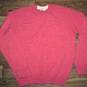 Мужской реглан свитер Gran Sasso, Made in Italy, шерсть\кашемир 48-50