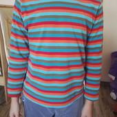 Реглан ,кофта полосатая для мальчика на рост 122-128 см