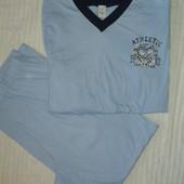 отличная мужская трикотажная пижама р.L